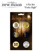 Twilight New Moon - Pin Set Of 6 Forks High