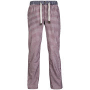 Ted Baker Jimjam Woven Check Lounge Pants - Red