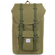 Herschel Little America Rubber Backpack - Army Rubber