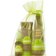 Macadamia Natural Oil Original Heroes Trio - Worth £43.40 (Shampoo 300ml, Deep Repair Masque 100ml, Healing Oil Spray 60ml)