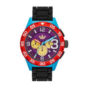 adidas Originals Watches Newburgh 48mm Watch - Black Multi