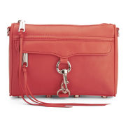 Rebecca Minkoff Women's Mini Mac Leather Cross Body Bag - Blood Orange