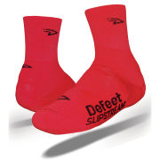 DeFeet Slipstream Shoe Covers - Red