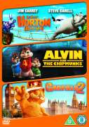 Horton Hears A Who!/Alvin And The Chipmunks/Garfield - A Tale Of Two Kitties