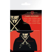 V For Vendetta Freedom Forever - Card Holder