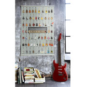 Pop Chart Lab Guitars Art Print