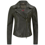 Matchless Women's Soho Leather Blouson Jacket - Black