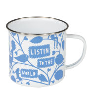 Rob Ryan Enamel Mug