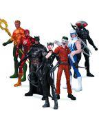 DC Comics New 52 Super Heroes Vs. Super Villains Action Figure 7 Pack