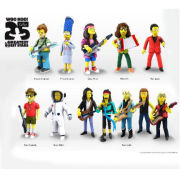 NECA Simpsons 25th Anniversary Rock Camp Otto 5 Inch Action Figure