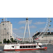 Thames Evening Cruise with Bubbly and Canapés for Two Special Offer