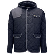 Voi Jeans Men's Majesty Hooded Jacket - Dressers Blue