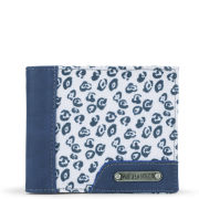 Voi Men's Willow Bifold Wallet - Leopard/White