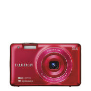 Fujifilm FinePix JX660 Digital Camera (16MP, 5x Optical Zoom, 2.7 Inch LCD) - Red