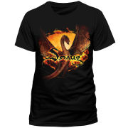 The Hobbit Battle of the Five Armies Men's T-Shirt - Smaug Flying