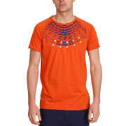 Mas-if Men's Hubbel Fan T-Shirt - Burnt Orange