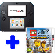 Nintendo 2DS Black & Blue Console: Bundle includes LEGO CITY Undercover-The Chase Begins