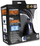 SteelSeries Siberia V2 Full Size Headset - Blue