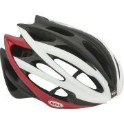 Bell Gage Cycling Helmet White/Black/Red