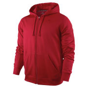 Nike Men's KO Full Zip Hoody 2.0 - Gym Red