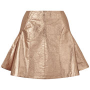 Antipodium Women's Retriever Metallic Skirt - Copper