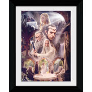 The Hobbit Collage - Collector Print - 30 x 40cm