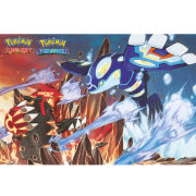Pokemon Groudon and Kyogre - Maxi Poster - 61 x 91.5cm
