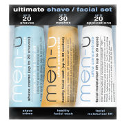 men-ü Ultimate Shave Facial Set (3 x 15ml)