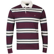 Farah 1920 Men's Goddard Polo Shirt - Bordeaux