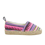 Love Moschino Women's Slip On Printed Espadrilles - Aztec Multi Print