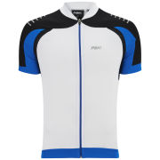 PBK Heritage Vernon Short Sleeve Jersey - Black/White/Blue