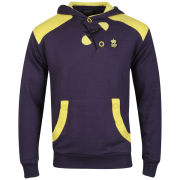 Soul Star Men's Oscar Hooded Sweatshirt - Purple