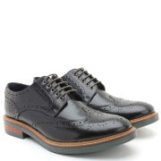Base London Men's Woburn Brogues - Black