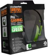 SteelSeries Siberia V2 Full Size Headset - Green