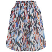 Carven Women's Printed Skirt - Multi