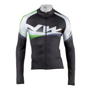 Northwave Extreme Graphic Jersey LS - Black/Green