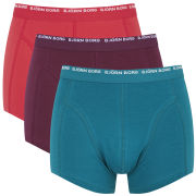 Bjorn Borg Men's 3 Pack Short Boxers - Ocean Depths