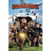 How to Train Your Dragon 2 Cast Maxi Poster (61 x 91.5cm)