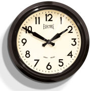 50s Electric Clock - Black