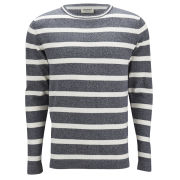 Jack & Jones Men's Phone O-Neck Jumper - Cloud Dancer