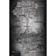 Batman Arkham Origins Map - Maxi Poster - 61 x 91.5cm