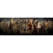 The Hobbit cast - Midi Poster - 30.5cm x 91.5cm