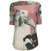 Carven Women's Dada Habotai Top - Old Pink