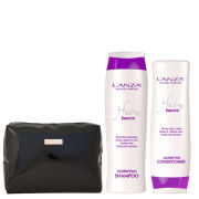 L'Anza Healing Smooth Duo Includes Bag (Worth £49.50)