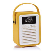 View Quest Retro Mini Bluetooth DAB+ Radio - Mustard
