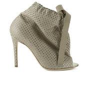 Vivienne Westwood Women's Open Toe Heeled Shoe Boots - Beige/Platinum