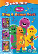 Barney: Sing and Dance Pack (Songs from the Park / Sing that Song / Riff's Musical Zoo)