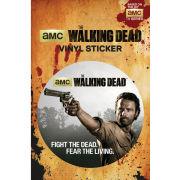The Walking Dead Rick Grimes - Vinyl Sticker - 10 x 15cm