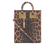 Sophie Hulme Women's Mini Hardware Leather Tote Bag - Leopard