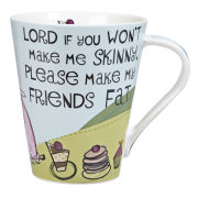 Lord Make Me Skinny Flight Mug